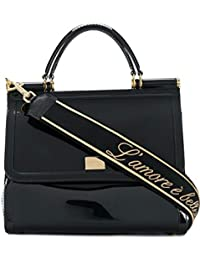 f6a03213ce44 Dolce E Gabbana Femme BB6235AU6988S574 Noir Pvc Sac À Main