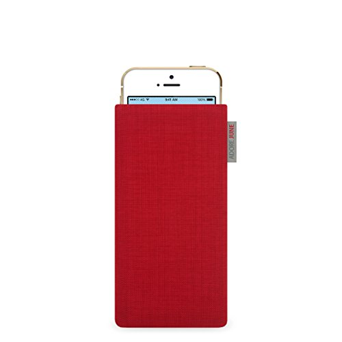 Adore June Classic Hülle für Apple iPhone 5 / 5s und iPhone SE - original Cordura - rot