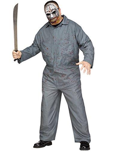 man Jason Adult Halloween Costume-Plus Size Plus Size 6'2/300 (Plus Halloween)
