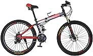 Vlra bike Foldable bike Sports and fitness mountain bike 26 inch/29 inch