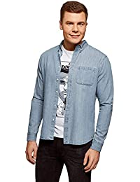 2b8806499d86f Amazon.fr   denim - Chemises   T-shirts, polos et chemises   Vêtements
