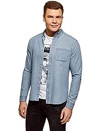 b4e11a491b94e Amazon.fr   denim - Chemises   T-shirts, polos et chemises   Vêtements