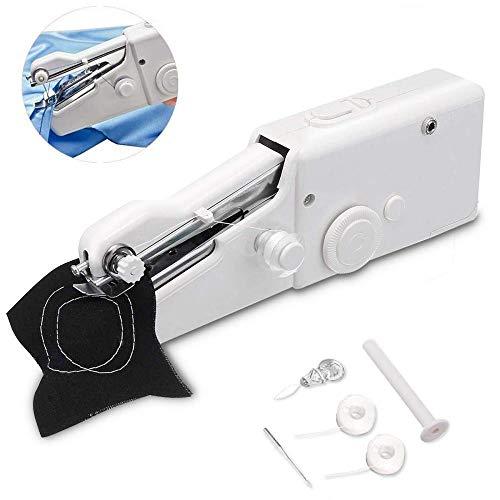 QVQV Handmininähmaschine, bewegliche Nähmaschine, Stichwerkzeug für Reisen oder schnelle Reparaturen DIY Stitching Kind-Tuch (Nähmaschinen-reparatur-kit)