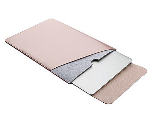 "11.6-15.4 Zoll Laptophülle Sleeve Laptophülle Hülle Tasche Sleeve Schutzhülle Notebooktasche für Ultrabook/Macbook air/pro für 2016 macbook pro 13.3"" Rose Gold"