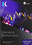 E2 MANAGING PERFORMANCE - STUDY TEXT (Kaplan Official Cima)
