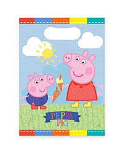Larger Value Peppa Pig Party/Loot Bags Pack of 16