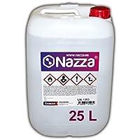 Disolvente Universal 2000 Nazza   Alto poder Diluyente   Especial para pinturas sintéticas y poliuretanos   Envase de Plástico de 25 Litros