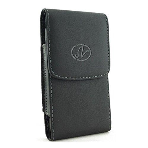 Holster für Samsung Galaxy A7(2016), A7, J7(2016) Oder J7. Plus Ein Eingabestift, Black Vertical Leather Large Case A700 Cell Phone