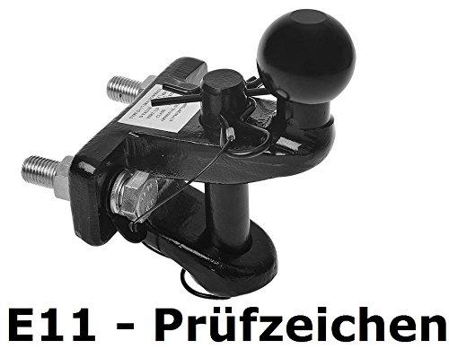 ProPlus Kombikupplung Anhängerkupplung & Zugmaul Kugelkopf LKW Traktor PKW Duokupplung Doppelkupplung Anhäng