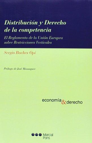 Distribución y derecho de la competencia (Economía y Derecho)