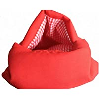 Always Fresh Kitchen Cook Tatoes Borsa per patate in microonde, Rosso, 2 x 22 x 17 cm