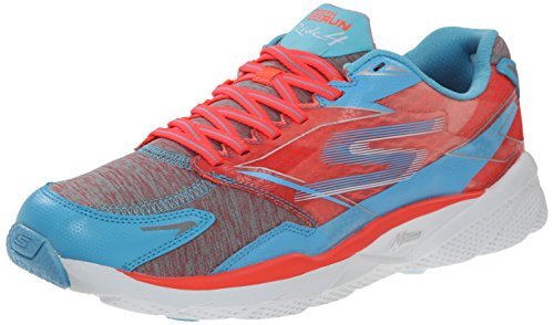 Skechers Femme Ride Entrainement Excess 4 Run Go Running Blue Coral rSPHfr