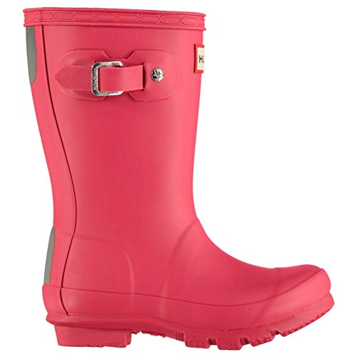 Hunter Original Little Kids Wellington Boots Infants Girls Pink Wellies Gum Boot