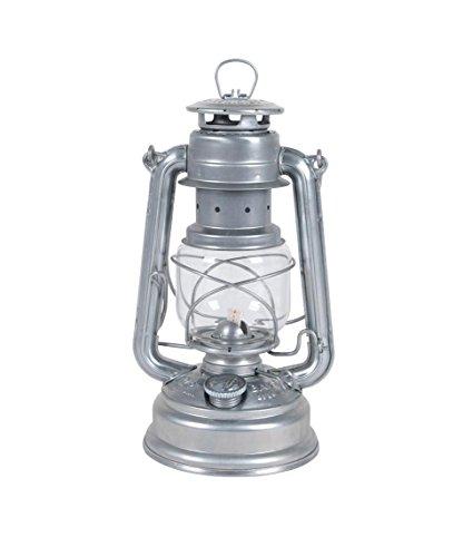 Feuerhand 8219640 Lanterne de Tempête Galvanisée Acier Argent 26 cm