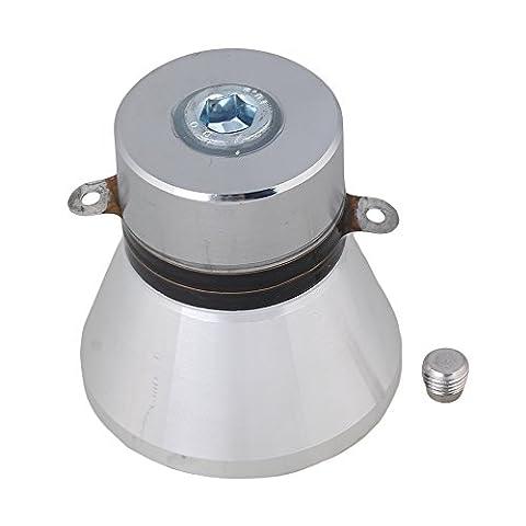 BQLZR Alliage en aluminium 100W 28kHz nettoyeur à transducteur piézo-électriques argenté