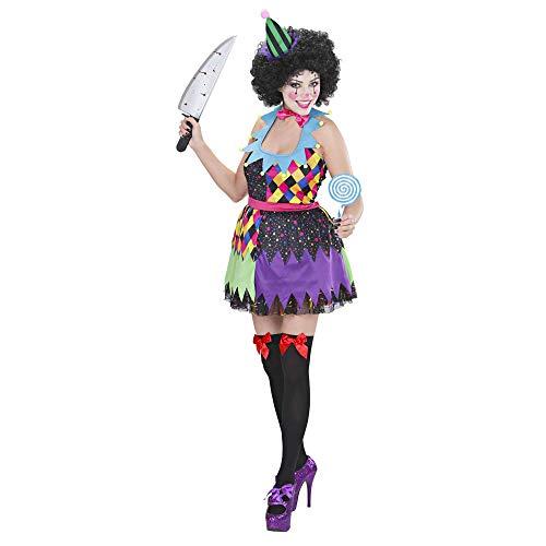 WIDMANN Widman - Disfraz de payaso de circo para mujer, talla S (S/02321)