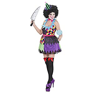WIDMANN Widman - Disfraz de payaso de circo para mujer, talla M (S/02322)