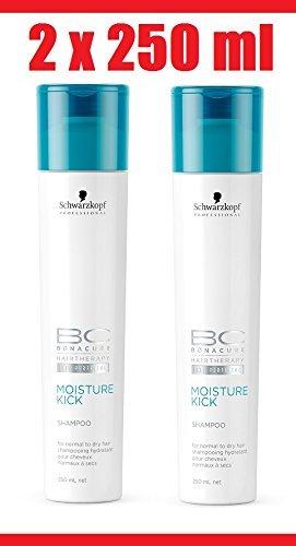 Schwarzkopf 2x Bonacure Moisture Kick Shampoo je 250 ml = 500 ml