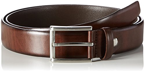 MLT Belts & Accessoires Herren Business-Gürtel London, Braun (brown 6000), 125 cm