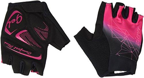 Ziener Damen CERAFINE Bike Glove Handschuhe, pink Blossom, 6,5
