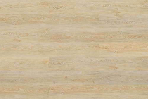 Cortex Kork Parkett Eiche vintage Sand | Veranatura Klick Parkettboden Eiche hell ✓Kork statt Vinyl ✓Schalldämmung ✓Klick Montage ✓robust | Inhalt 1,806m² = 10 Parkett Dielen á 1220x185x10,5mm
