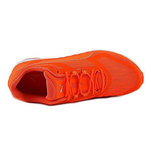 Puma Speed 500 Ignite Maschenweite Laufschuh Orange-Silver-Orange