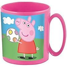 Joy Toy 748604 - Peppa Pig - Taza para microondas (350 ml) 8 x 8 cm