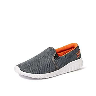 Fusefit Men's Tramp Dk Grey/Orange Running Shoes-10 UK/India (44 EU) (FFR-134)