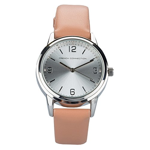 french-connection-damen-classic-pink-armbanduhr