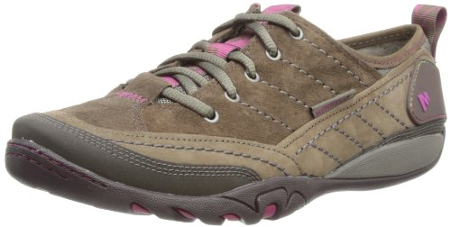 Merrell Mimosa Lace, Women's Hook and Loop Trainer Shoes - Merrell Stone,...