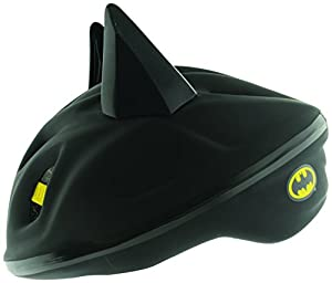 Batman Boy's 3D Bat Safety Helmet - Black, 53 - 56 cm