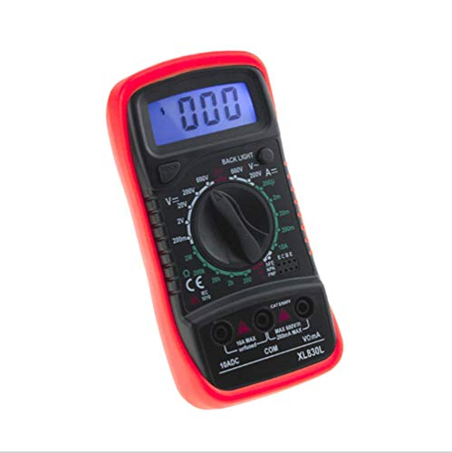 ER-JI Digitale Multimeter intelligente Handheld Power Meter Tester elektrischen Widerstand Spannung - Fluke Power Meter