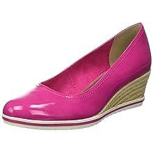 Tamaris 1-1-22441-22, Scarpe con Tacco Donna, Rosa (Pink Patent 639), 38 EU