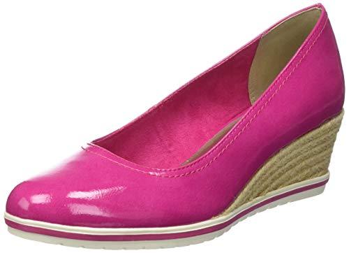 Tamaris Damen 1-1-22441-22 639 Pumps, Pink (Pink Patent 639), 38 EU Patent Schuhe