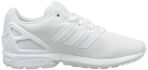 adidas Zx Flux, Baskets Basses Mixte Enfant Blanc (Footwear White/Footwear White/Footwear White)