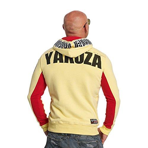 Yakuza Original Herren Chockin Victim Hoodie Kapuzenpullover Pale Banana