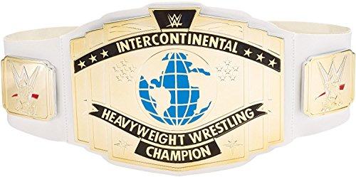 Mattel WWE Intercontinental Championship Title Leather Belt
