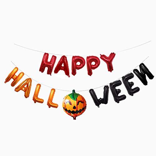 Altsommer Halloween Stangen Hängende Dekorations Horror Kombinations Ballon Feier - Lebens Brettspiel Kostüm