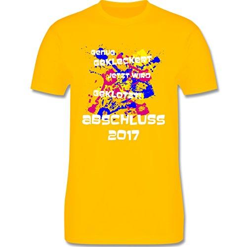 Abi & Abschluss - Jetzt wird geklotzt - Abschluss 2017 - Herren Premium T- Shirt