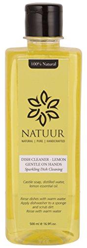 NATUUR Dish Cleaner - Lemon - 500 ml (Yellow)