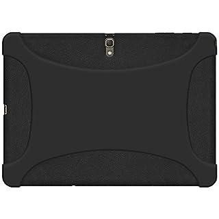 Amzer Exclusive Silikonhülle für Samsung Galaxy Tab S 10.5 SM T805/T800 - Schwarz