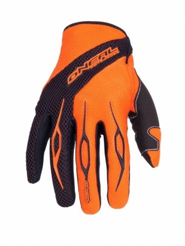 O´Neal Motocross MX Handschuhe Element Racewear Orange Gr. M (Loop-seitenteile)