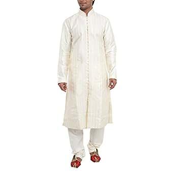 Manyavar Men's Simple Kurta Paijama