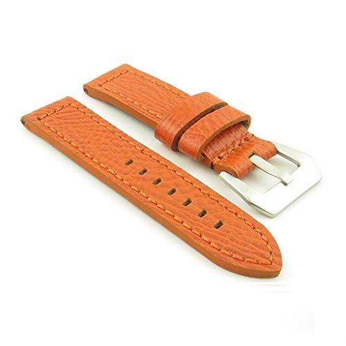 dassari-baron-bande-pour-montre-en-cuir-texture-orange-style-panerai-taille-24-24-24mm