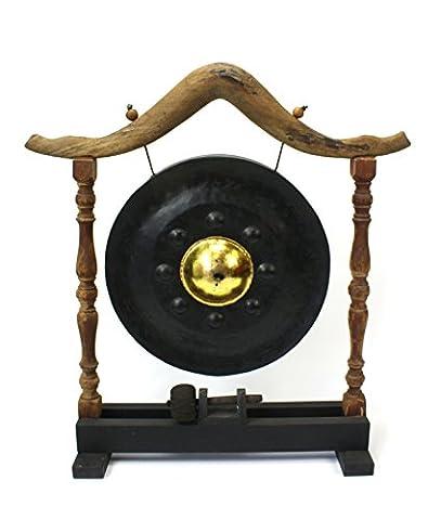 Grand Thai gong sur le support, 70cm de haut