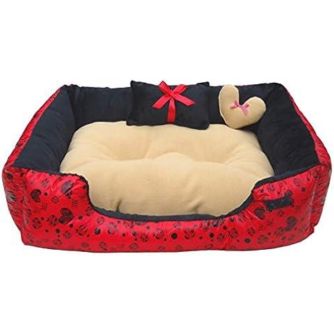 Mascota de peluche corto estera interior alfombras de perros y gatos durables acogedoras