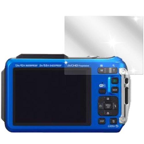 dipos I 2X Schutzfolie klar passend für Panasonic Lumix DMC-FT5 Folie Displayschutzfolie