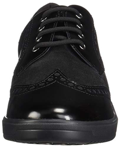 8881fef7155df Geox Womens D Tahina G Low-Top Sneakers, Black C9999, 4 UK ...
