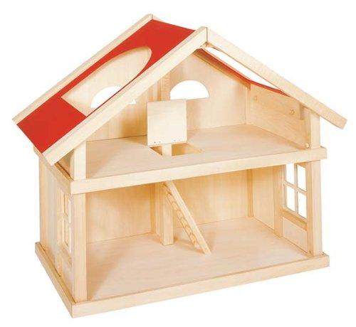 Goki 51961 Puppenhaus ohne Zubehör