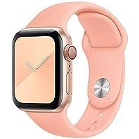 123Watches.nl - Apple watch sport band - grapefruit - 42mm en 44mm - SM